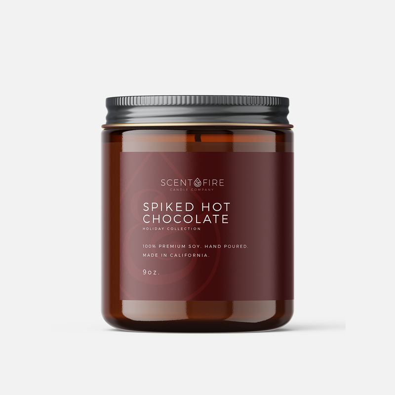 Spiked Hot Chocolate - Scent & Fire Candle Co.