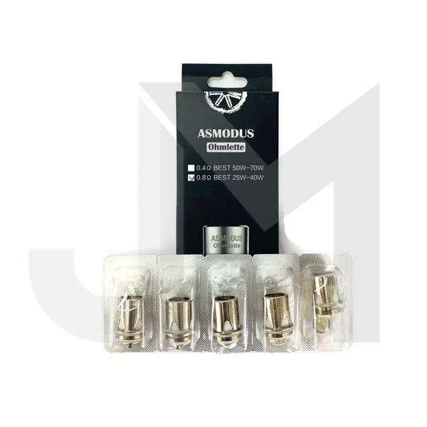 Asmodus Ohmlette Coils – 0.8 / 0.4ohm