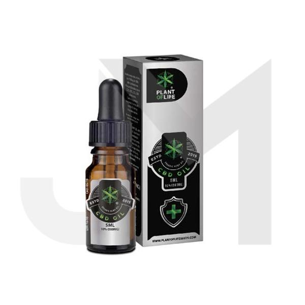 Plant of Life 500mg CBD Full Spectrum CBD Oil 5ml