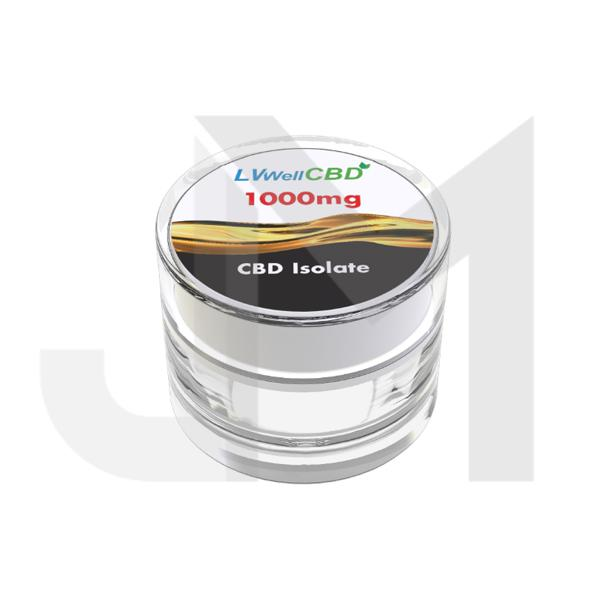 LVWell CBD 99%  Isolate 1000mg CBD