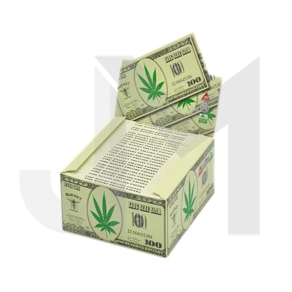 50 Hornet King Size Slim Dollars Rolling Papers