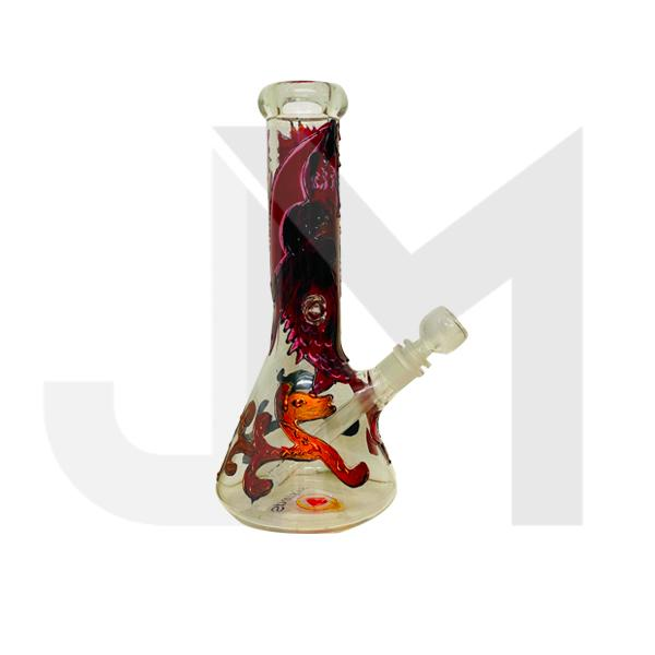 12'' Sparkys Hand Painted Glass Bong