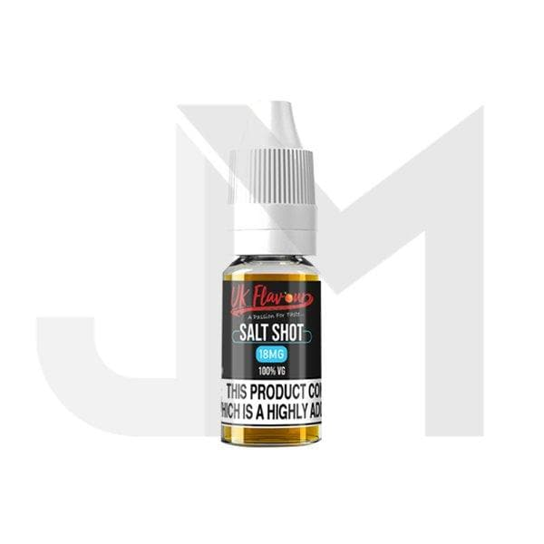 UK Flavour Nic Salt Shot 18mg 10ml (100VG)