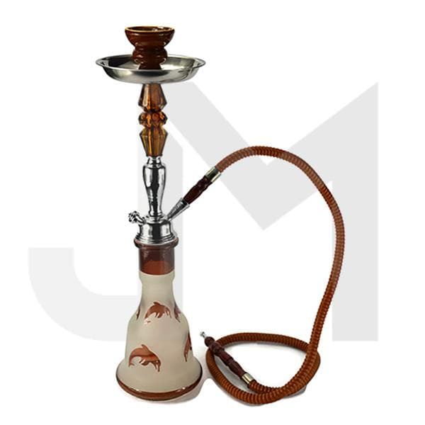 Medium 1 Hose Shisha Hookah - Assorted Colours
