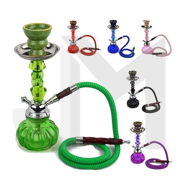 Small 1 Hose Shisha Hookah - Assorted Colours