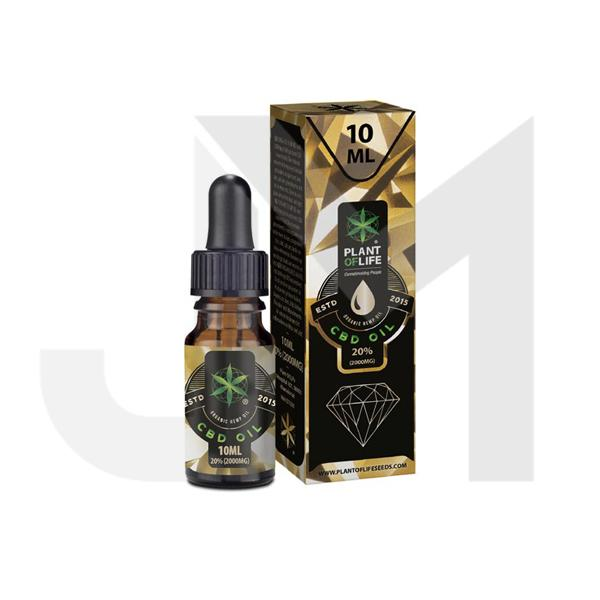Plant of Life 2000mg CBD Full Spectrum CBD Oil 10ml