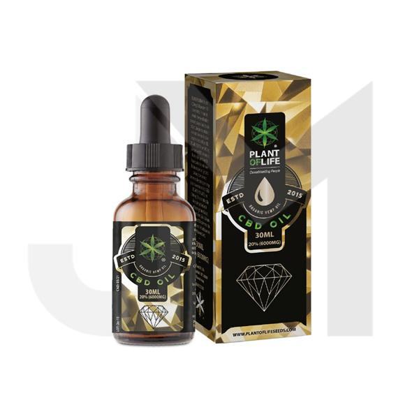 Plant of Life 6000mg CBD Full Spectrum CBD Oil 30ml