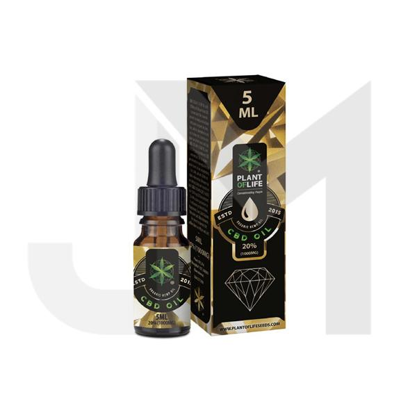 Plant of Life 1000mg CBD Full Spectrum CBD Oil 5ml