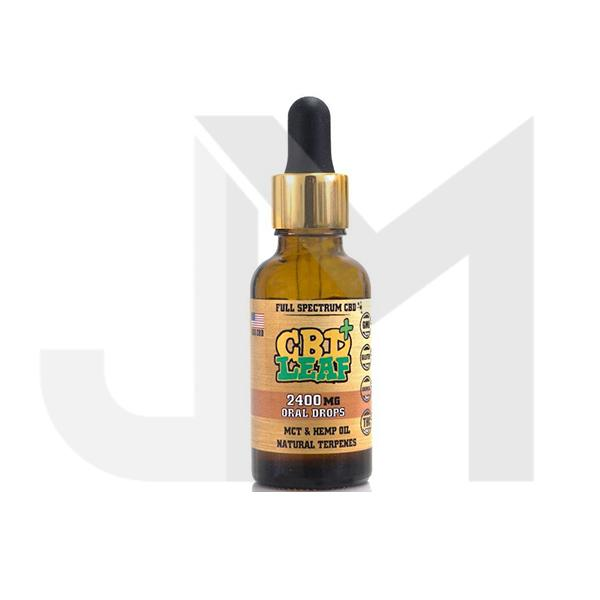 CBD Leaf 2400MG Oral Drops 30ml