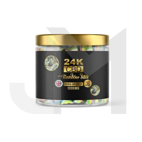 24K 750mg CBD Premium Gummies