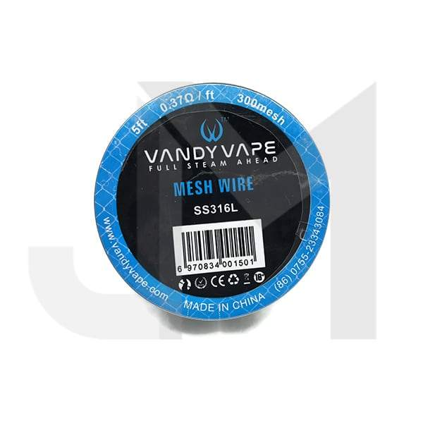 Vandy Vape Mesh Wire SS316L 0.37 Ohm/ft