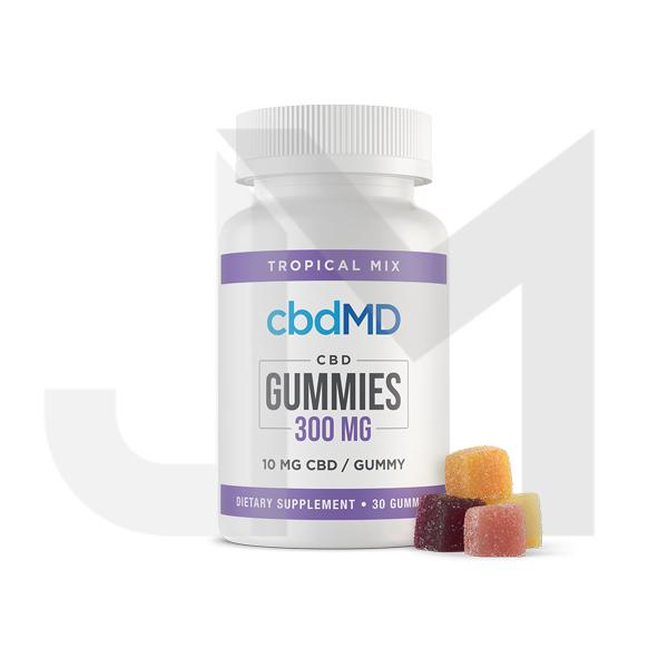 cbdMD 300mg CBD Gummies - 30 pack