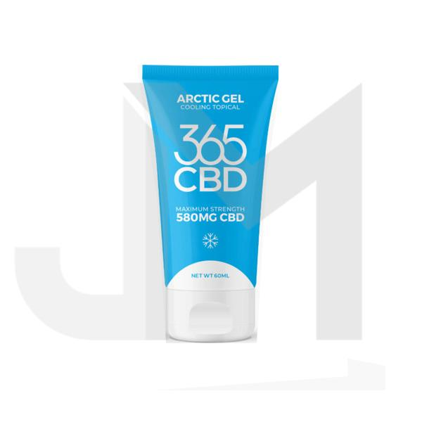 365CBD Arctic Gel 580mg CBD Cooling Topical Balm 60ml (BUY 1 GET 1 FREE!)
