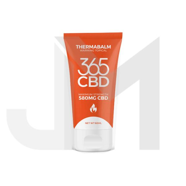 365CBD Thermabalm 580mg CBD Warming Topical Balm 60ml (BUY 1 GET 1 FREE!)
