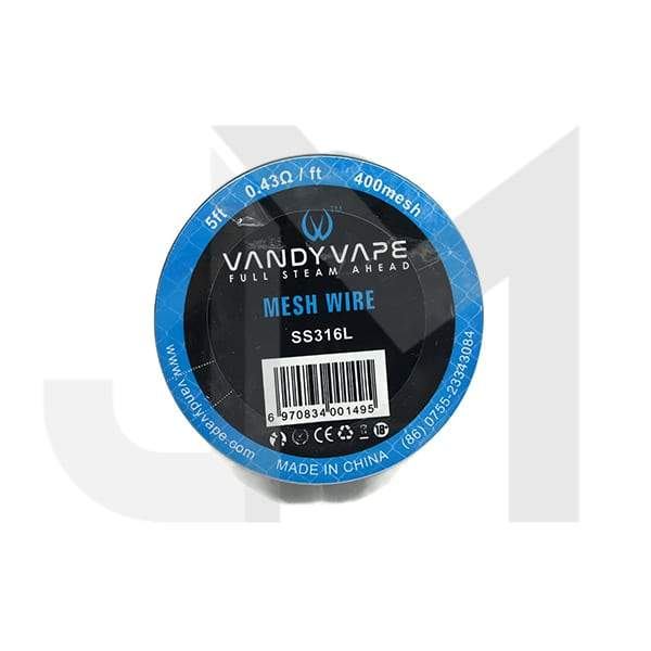 Vandy Vape Mesh Wire SS316L 0.43 Ohm/ft
