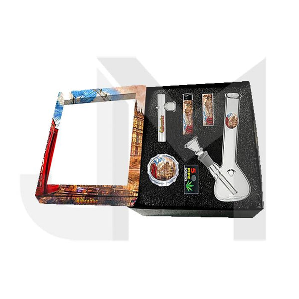 4Smoke Glass Bong Gift Set - GB54