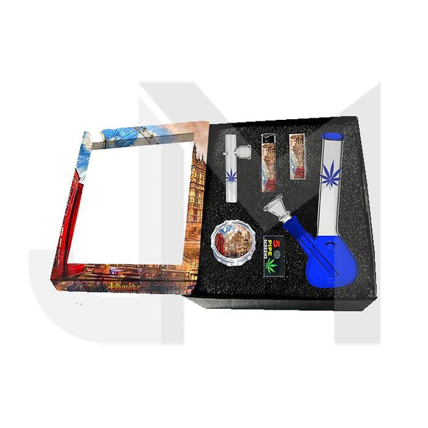 4Smoke Glass Bong Gift Set - GB61