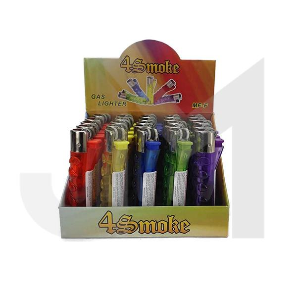 20 x 4Smoke Refillable Gas Lighter