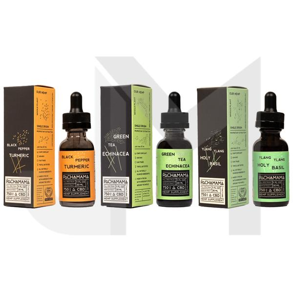 Pachamama 750mg CBD Tincture Oil 30ml - Natural