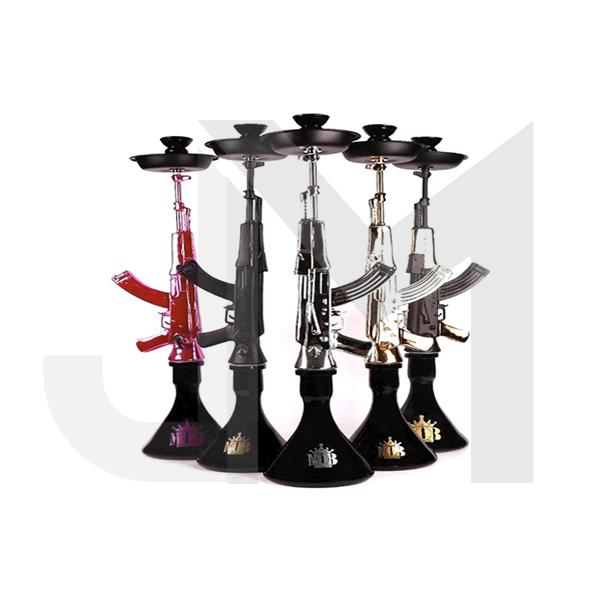 Large AK-47 Shisha Hookah - Assorted Colours