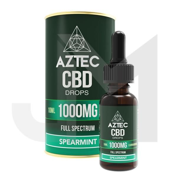 Aztec CBD Full Spectrum Hemp Oil 1000mg CBD 10ml