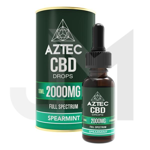 Aztec CBD Full Spectrum Hemp Oil 2000mg CBD 10ml