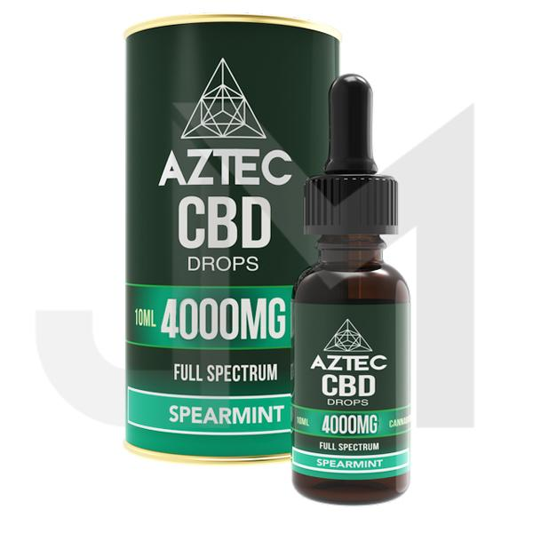 Aztec CBD Full Spectrum Hemp Oil 4000mg CBD 10ml