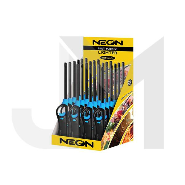 24 x Neon BBQ Lighter - ZY3884