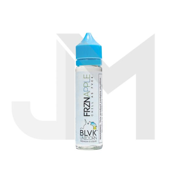 BLVK Unicorn FRZN Menthols 50ml Shortfill 0mg (70VG/30PG)