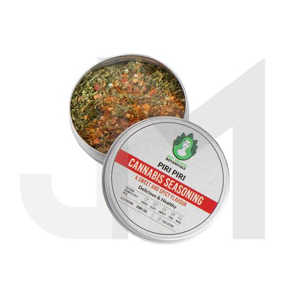 Body and Mind Botanicals 50mg CBD Cannabis Seasoning - Piri Piri