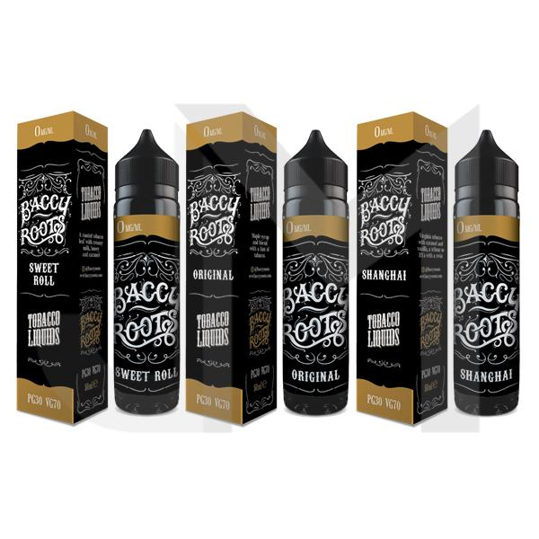Baccy Roots 50ml Shortfill 0mg (70VG/30PG)