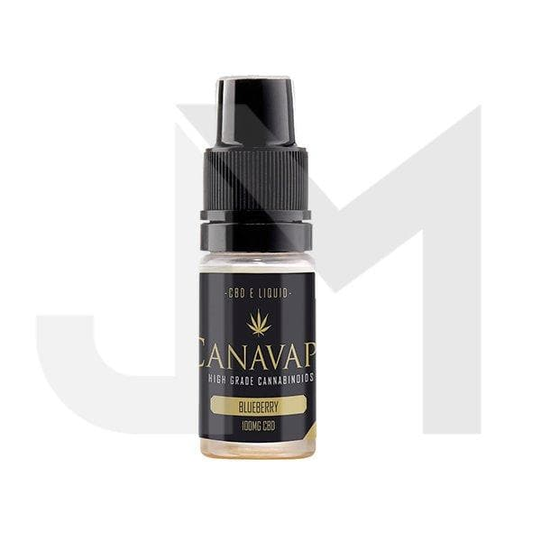Canavape E-Liquid 100mg CBD + 10mg CBG 10ml