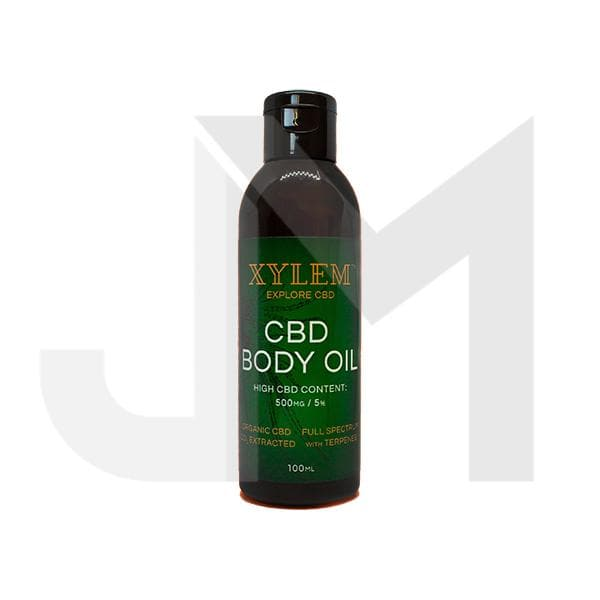 XYLEM CBD Body Oil 500MG 5% 100ml