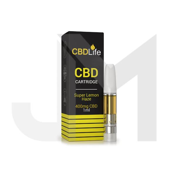 CBDLife 400mg Vape Pen Cartridge 1ml