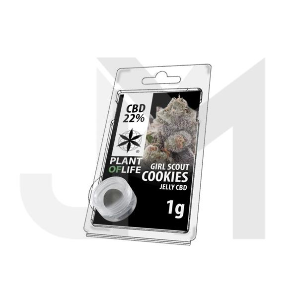 CBD 1g Jelly Girl Cookies 22%