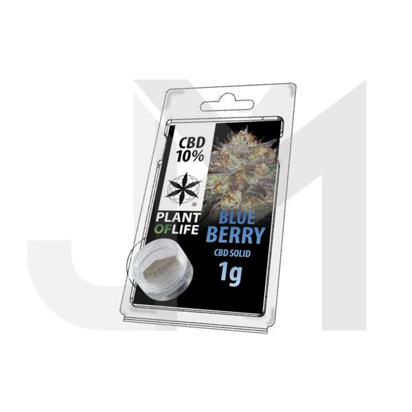 CBD Hash 1g Blue Berry 10%