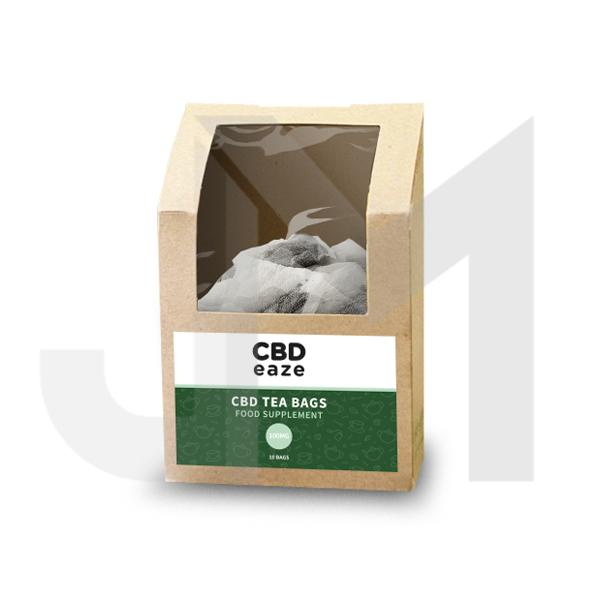 CBDeaze 100mg CBD Hemp Tea Bags