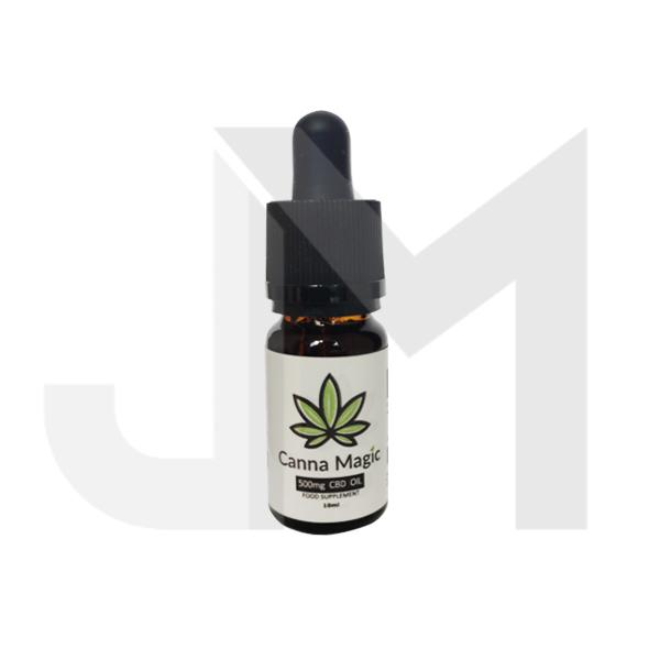Canna Magic 500mg CBD Oil 10ml