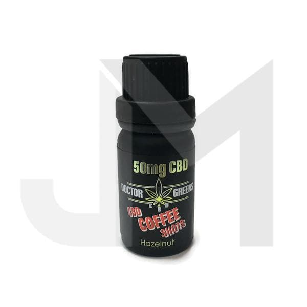 Doctor Green's Coffee Shots 50mg CBD 10ml
