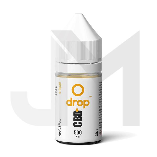 Drop CBD Flavoured E-Liquid 500mg 30ml