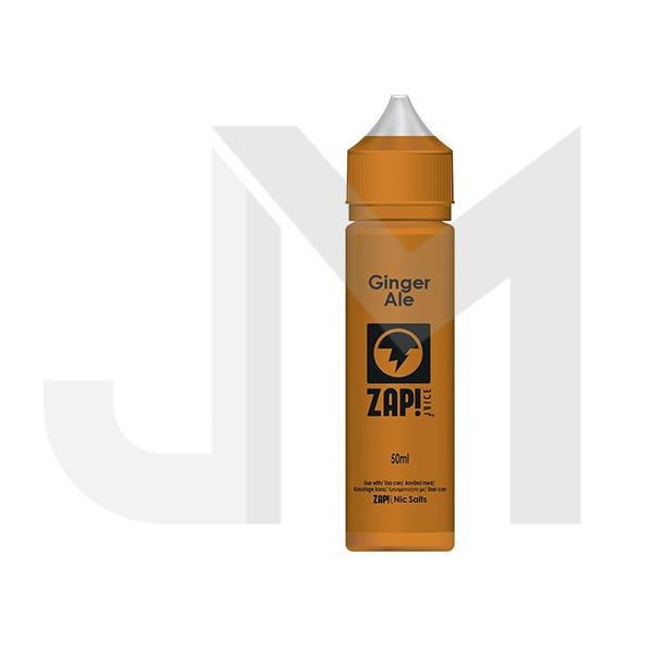 Zap! Juice 0mg 50ml Shortfill (Free ZAP 18mg Nic Salt)