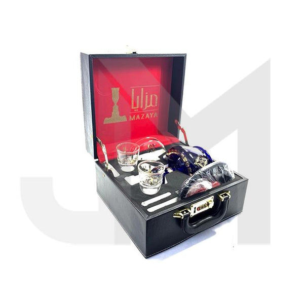 Mazaya Portable Glass Hookah In Suitcase - NO.2 SY2