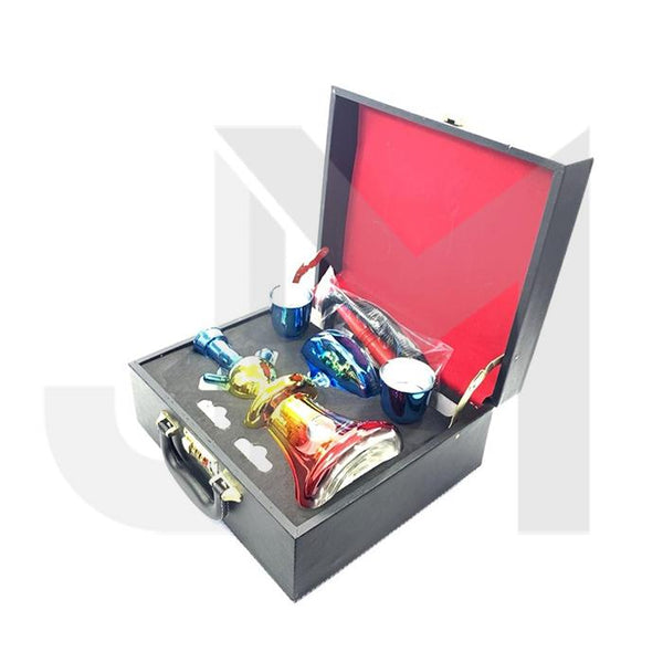Portable Glass Hookah In Suitcase - SY58