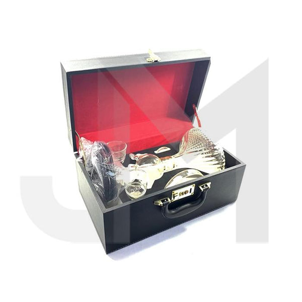 Portable Glass Hookah In Suitcase - SY71