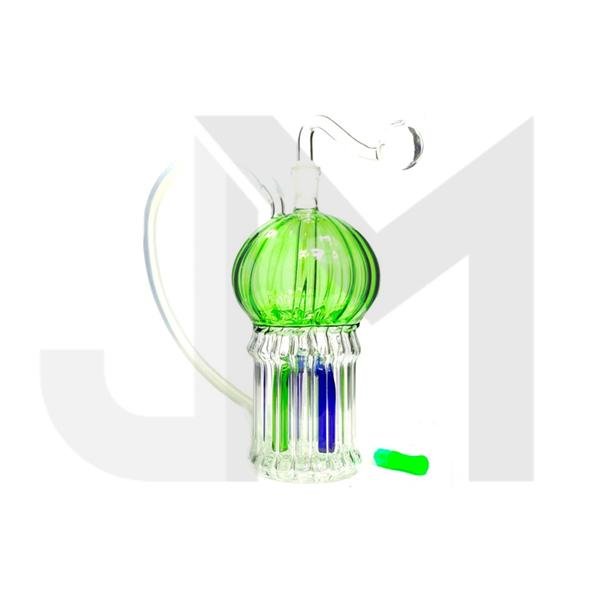 Stylish Glass Globe Water Pipe - No 6