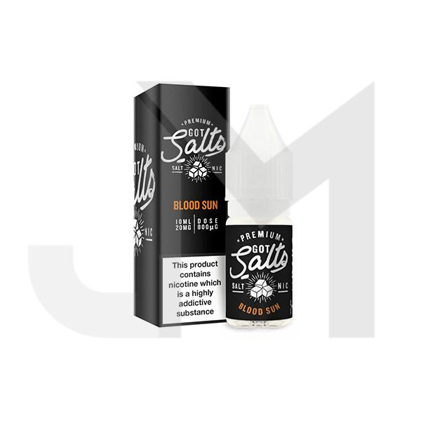 20MG Premium Got Salts 10ML Flavoured Nic Salts