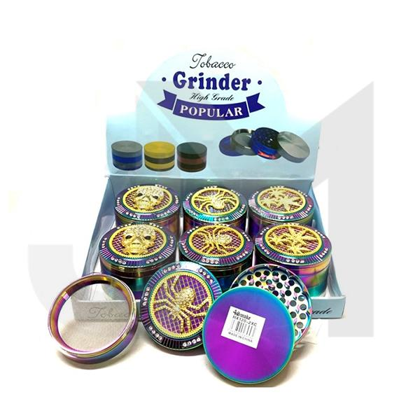 4Smoke 4 Parts High Grade Metal Rainbow Grinder - HX120-2XC
