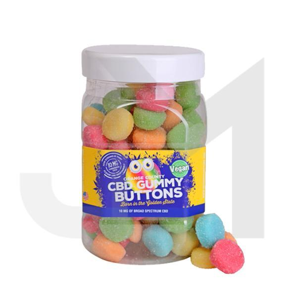 Orange County CBD 25mg Gummy Buttons - Large Pack