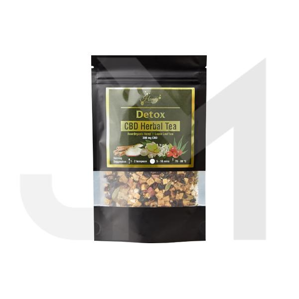 Honey Heaven 300mg CBD Loose Leaf Herbal Tea 50g - Detox
