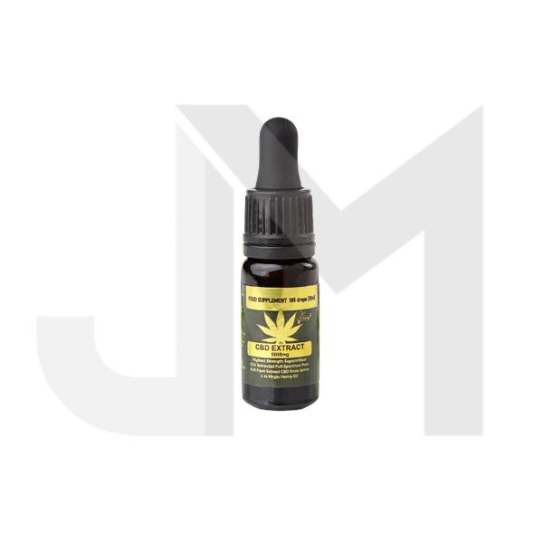 Honey Heaven 1000mg CBD Tincture Oil 10ml